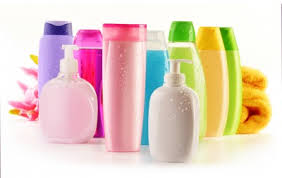 shampoo and hair care products