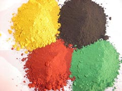 iron oxides mineral makeup