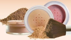 making mineral makeup powders